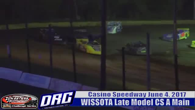 Casino Speedway 6/4/17 WISSOTA Late Model Challenge Series Races