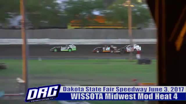Dakota State Fair Speedway 6/3/17 WISSOTA Midwest Modified Races