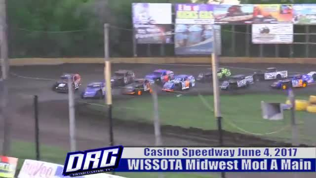Casino Speedway 6/4/17 WISSOTA Midwest Modified Races