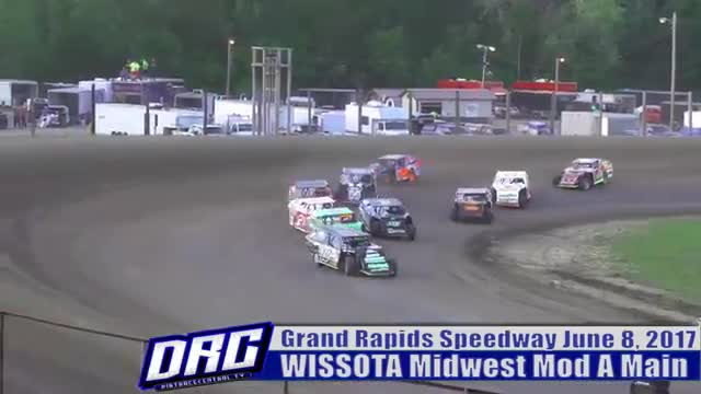 Grand Rapids Speedway 6/8/17 WISSOTA Midwest Modified Races