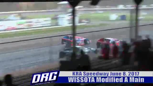 KRA Speedway 6/8/17 WISSOTA Modified A Main