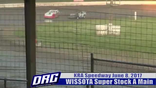 KRA Speedway 6/8/17 WISSOTA Super Stock A Main