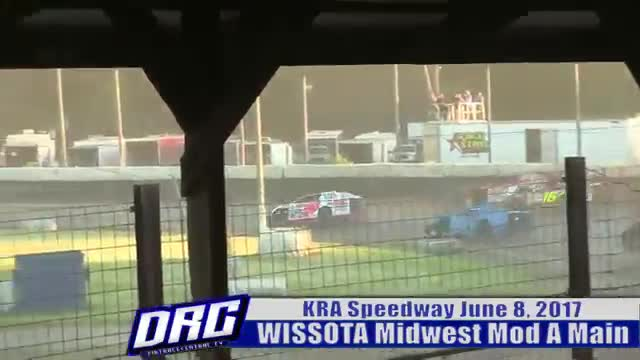 KRA Speedway 6/8/17 WISSOTA Midwest Modified A Main
