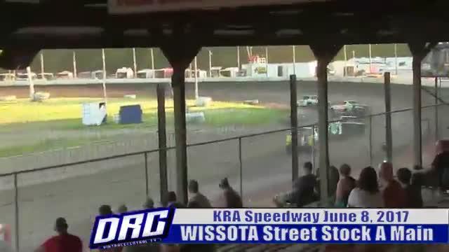 KRA Speedway 6/8/17 WISSOTA Street Stock A Main