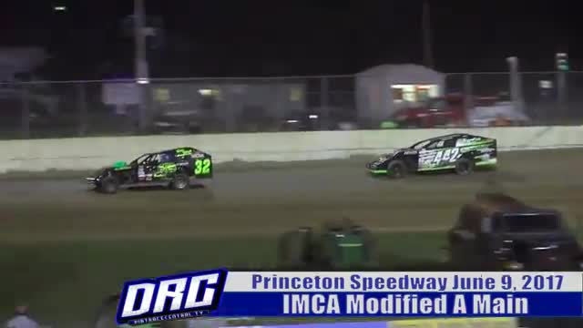 Princeton Speedway 6/9/17 IMCA Modified Races