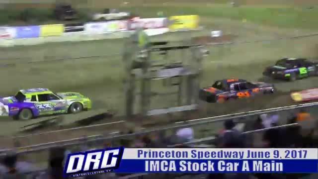 Princeton Speedway 6/9/17 IMCA Stock Car Races