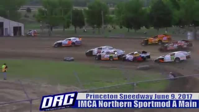 Princeton Speedway 6/9/17 IMCA Northern Sportmod Races