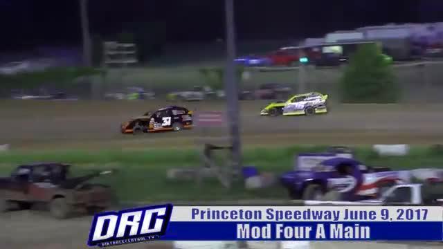 Princeton Speedway 6/9/17 Mod Four Races