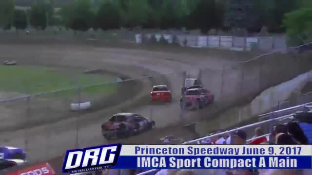 Princeton Speedway 6/9/17 IMCA Sport Compact Races