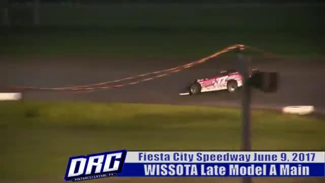 Fiesta City Speedway 6/9/17 WISSOTA Late Model A Main