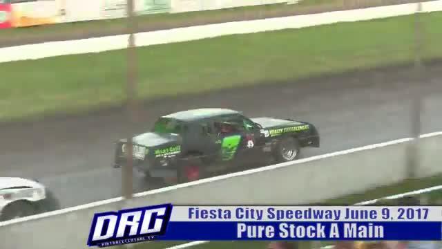 Fiesta City Speedway 6/9/17 Pure Stock A Main