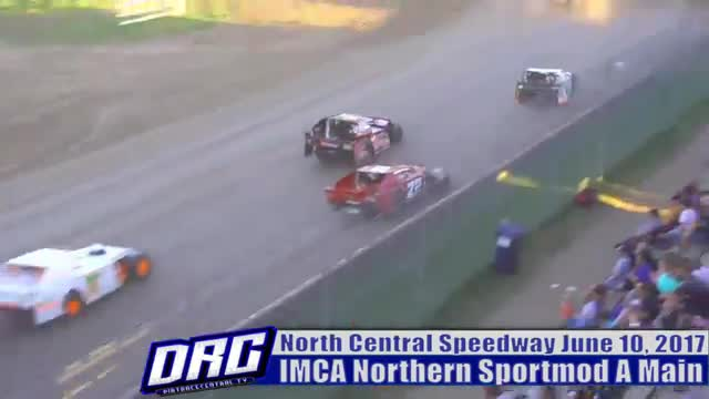 North Central Speedway 6/10/17 IMCA Northern Sportmod Races