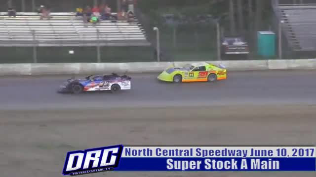 North Central Speedway 6/10/17 Super Stock Races