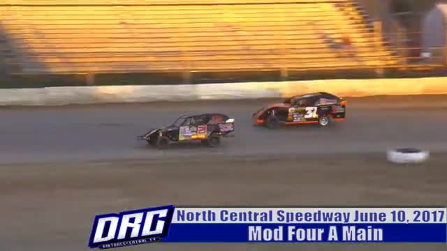 North Central Speedway 6/10/17 Mod Four Races