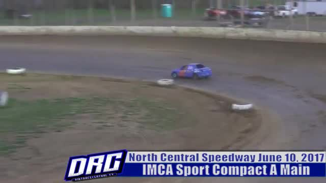 North Central Speedway 6/10/17 IMCA Sport Compact Races