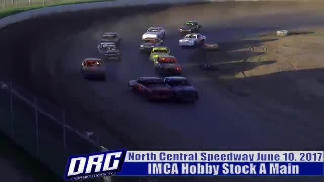 North Central Speedway 6/10/17 IMCA Hobby Stock Races