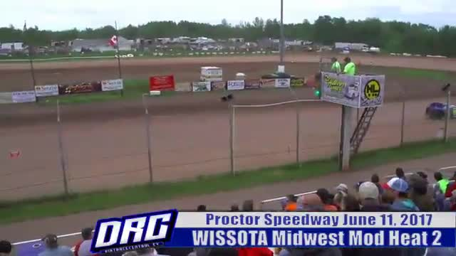 Proctor Speedway 6/11/17 WISSOTA Midwest Modified Races