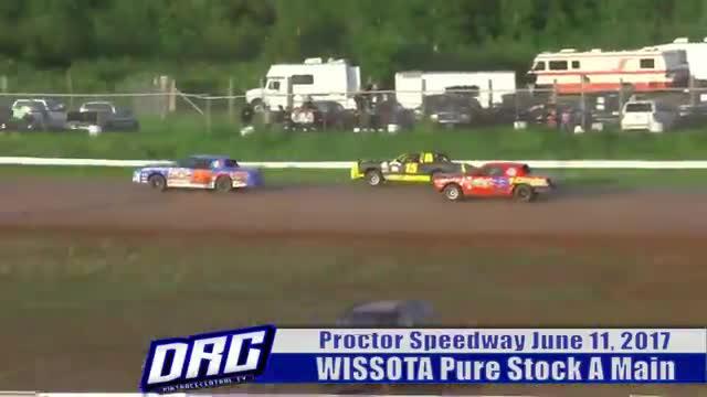 Proctor Speedway 6/11/17 WISSOTA Pure Stock Races
