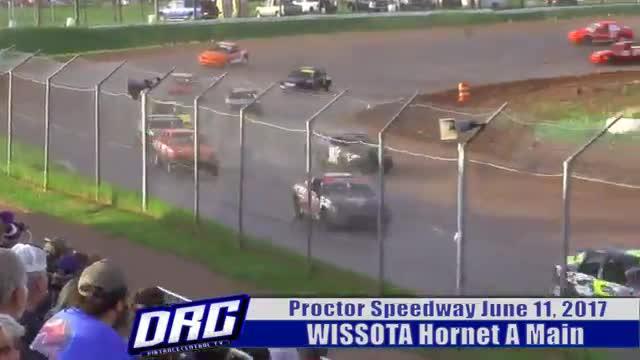 Proctor Speedway 6/11/17 WISSOTA Hornet Races