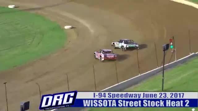 I-94 Speedway 6/23/17 WISSOTA Street Stock Races