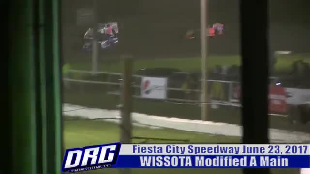 Fiesta City Speedway 6/23/17 WISSOTA Modified Races