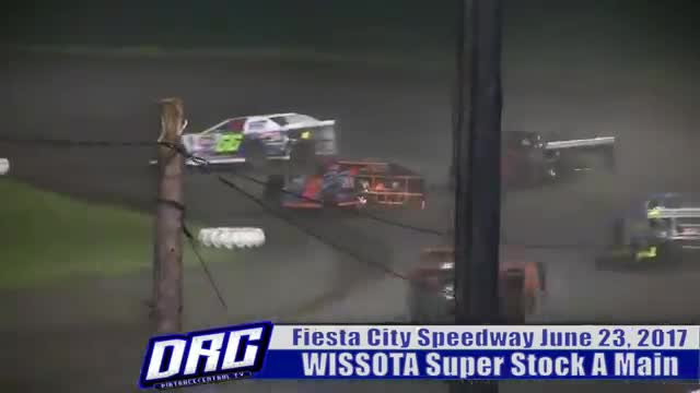 Fiesta City Speedway 6/23/17 WISSOTA Super Stock Races