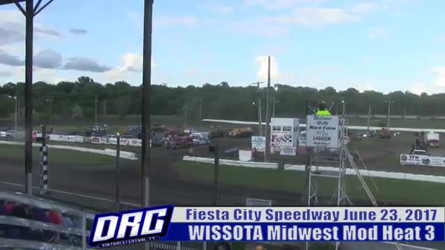 Fiesta City Speedway 6/23/17 WISSOTA Midwest Modified Races