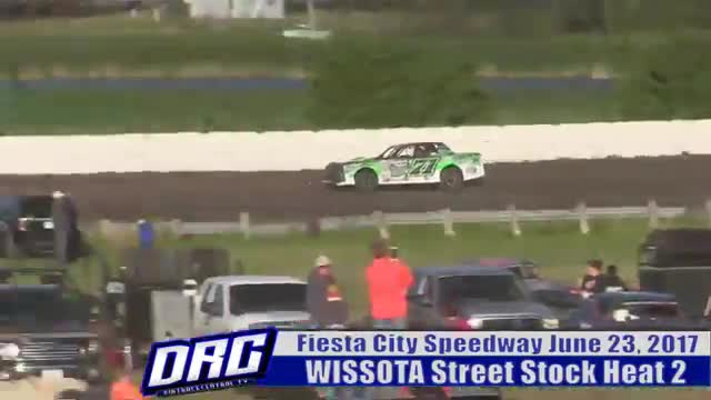 Fiesta City Speedway 6/23/17 WISSOTA Street Stock Races