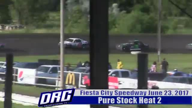 Fiesta City Speedway 6/23/17 Pure Stock Races
