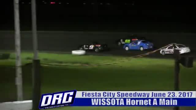 Fiesta City Speedway 6/23/17 WISSOTA Hornet Races