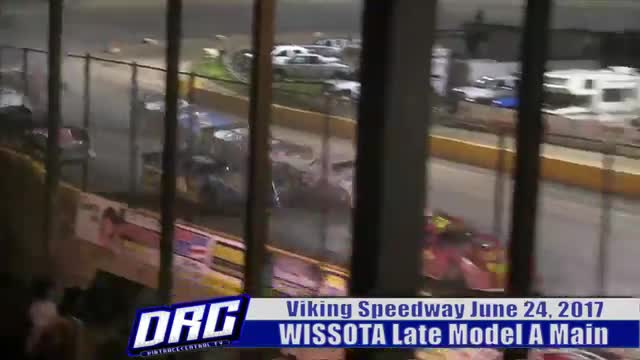 Viking Speedway 6/24/17 WISSOTA Late Model Races