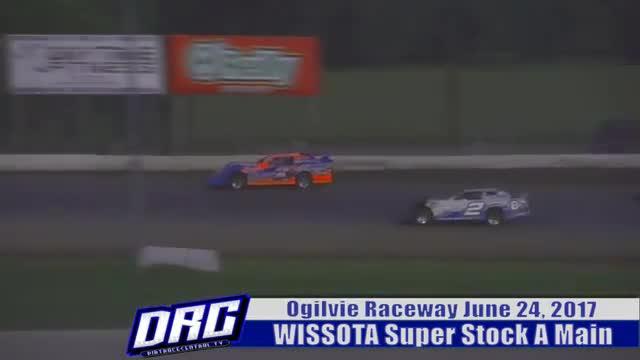 Ogilvie Raceway 6/24/17 WISSOTA Super Stock Races