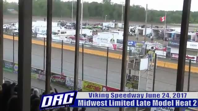 Viking Speedway 6/24/17 Midwest Limited Late Model Races
