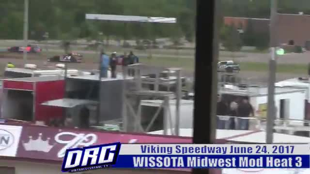 Viking Speedway 6/24/17 WISSOTA Midwest Modified Races