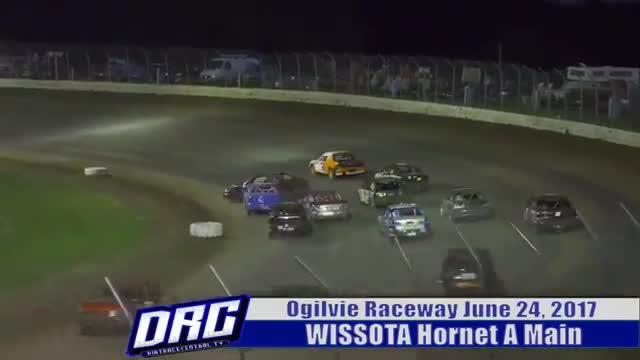Ogilvie Raceway 6/24/17 WISSOTA Hornet Races