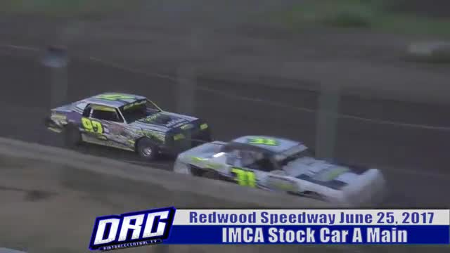 Redwood Speedway 6/25/17 IMCA Stock Car Races