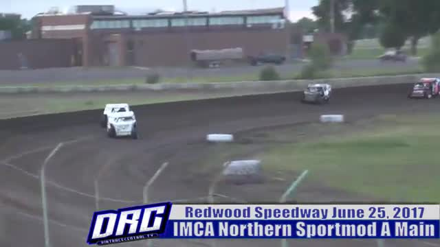 Redwood Speedway 6/25/17 IMCA Northern Sportmod Races