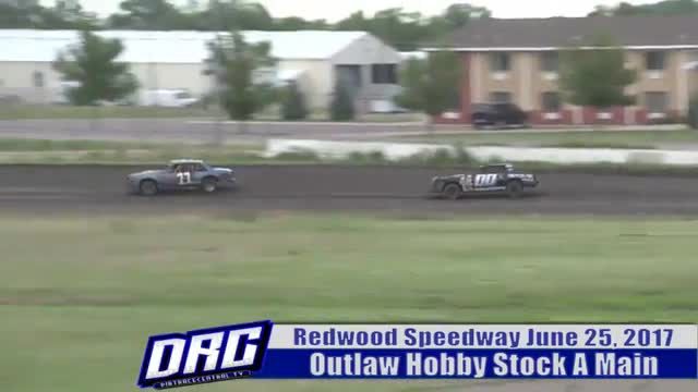 Redwood Speedway 6/25/17 Outlaw Hobby Stock Races