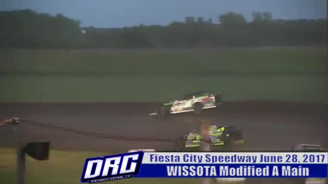 Fiesta City Speedway 6/28/17 WISSOTA Modified Races