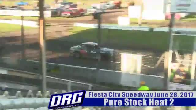 Fiesta City Speedway 6/28/17 Pure Stock Races