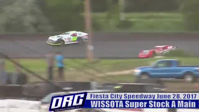 Fiesta City Speedway 6/28/17 WISSOTA Super Stock Races