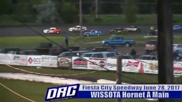 Fiesta City Speedway 6/28/17 WISSOTA Hornet Races