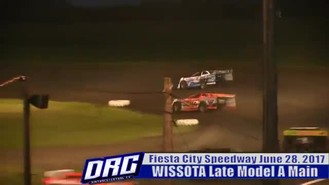 Fiesta City Speedway 6/28/17 WISSOTA Late Model Races