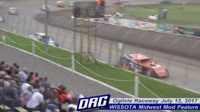 Ogilvie Raceway 7/12/17 WISSOTA Midwest Modified Races