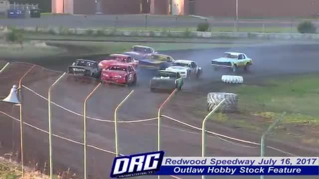 Redwood Speedway 7/16/17 Races