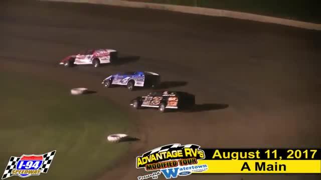 I-94 Speedway 8/11/17 Advantage RV Mod Tour