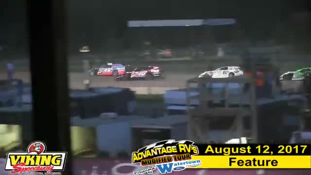 Viking Speedway 8/12/17 Advantage RV Mod Tour Race
