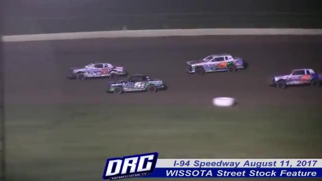 I-94 Speedway 8/11/17 WISSOTA Street Stock Races