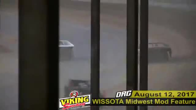 Viking Speedway 8/12/17 WISSOTA Midwest Modified Feature