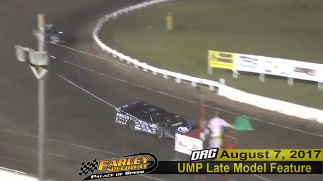 Farley Speedway 8/7/17 UMP Late Model Feature